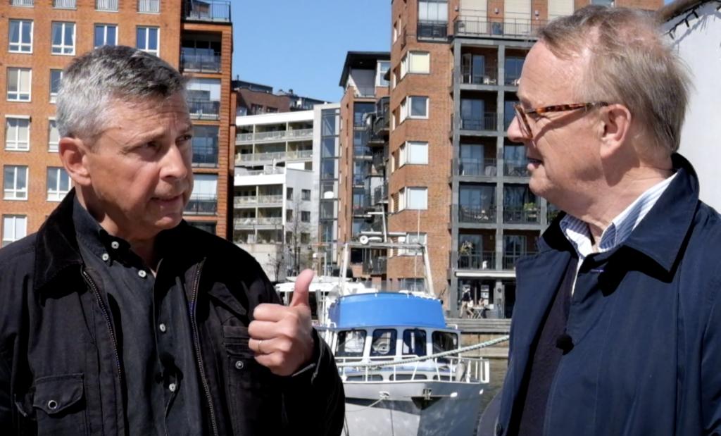 Kenny Genborg och Anders Johansson